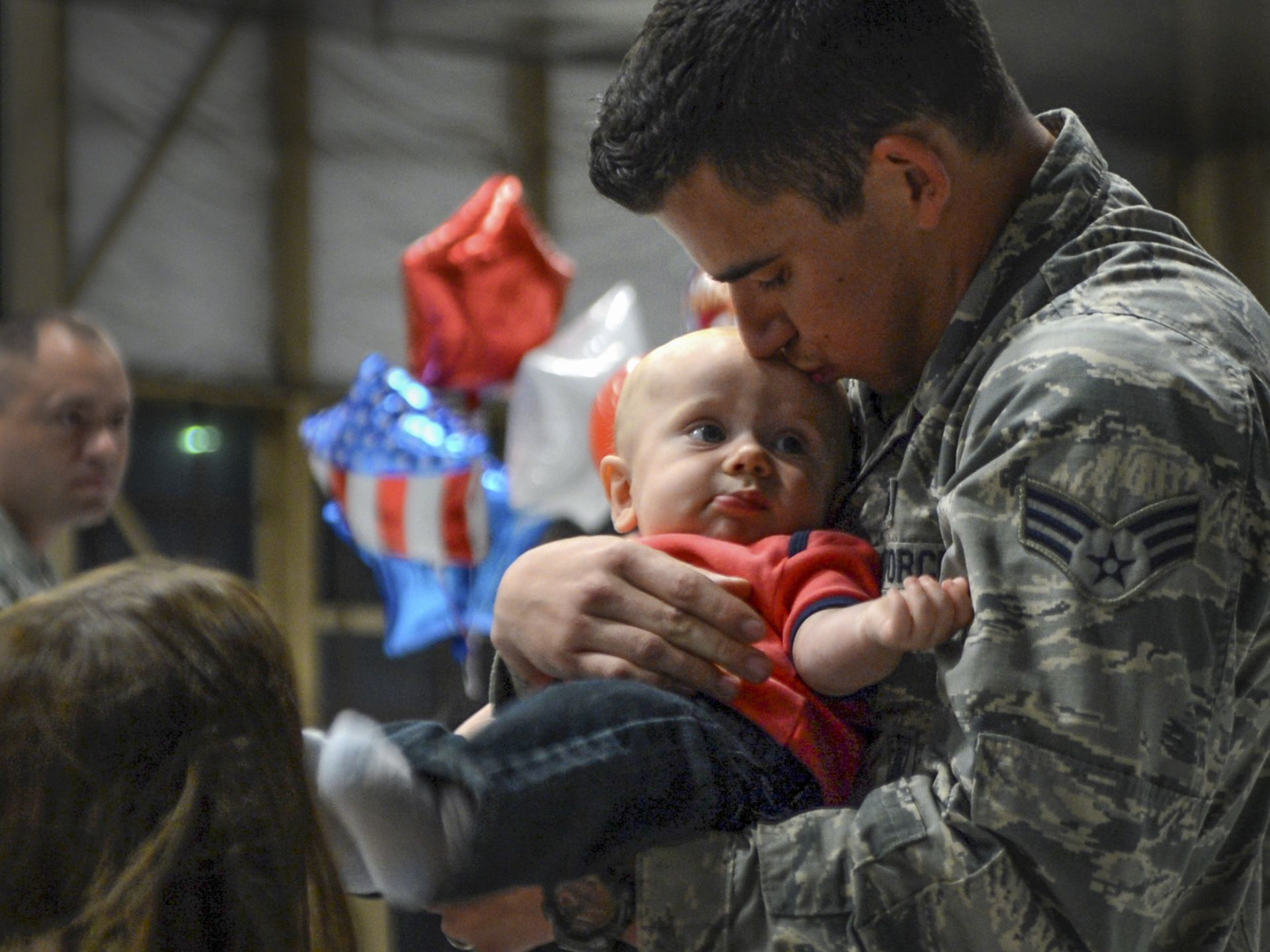 Airmen assigned to the 20th Fighter Wing return from a deployment at Shaw Air Force Base, S.C. Approximately 200 airmen deployed to the U.S. Central Command area of responsibility for six months. | Military Times >>