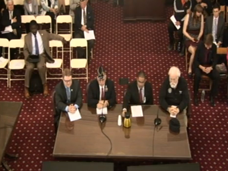 For a full video of the hearing, click here.