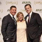 Honoree and Undersecretary of the Army Patrick Murphy, Jenni Murphy, and Host Willie Geist