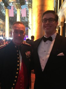 IAVA Member Max Spahn with General Joseph Dunford
