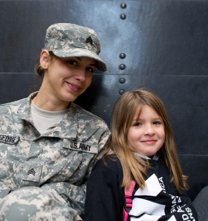 IAVA Soldier and girl