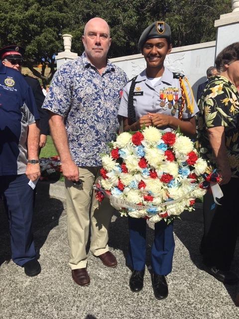 Hawaii Wreath