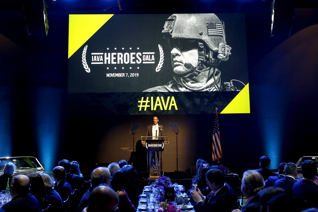 NEW YORK, NEW YORK - NOVEMBER 07: <> attends the 2019 IAVA's Heroes Gala at the Classic Car Club Manhattan on November 07, 2019 in New York City. (Photo by Brian Ach/Getty Images for IAVA)