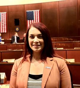 Kaitlynne Hetrick at the House Veterans Affairs hearing