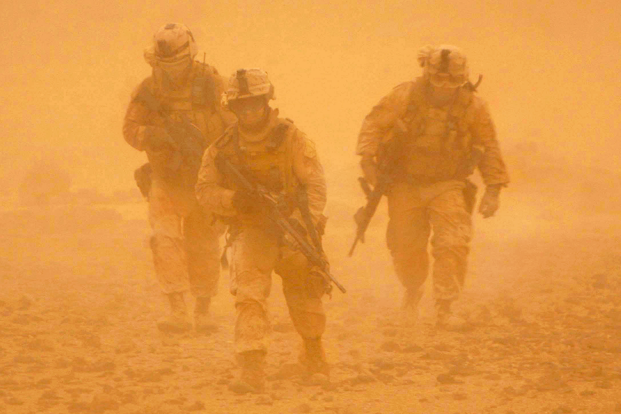 Aghan sand storm