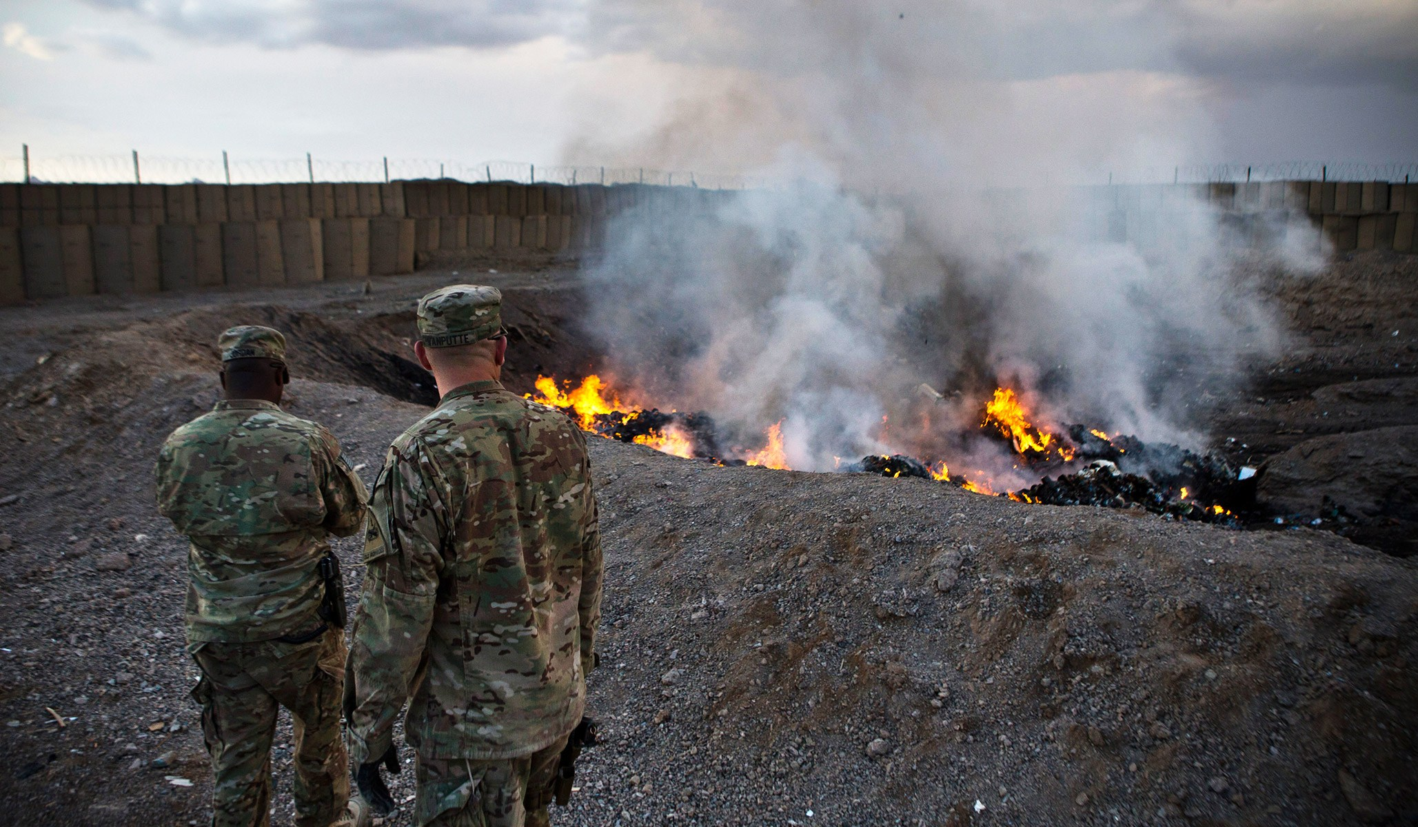What are Burn Pits?