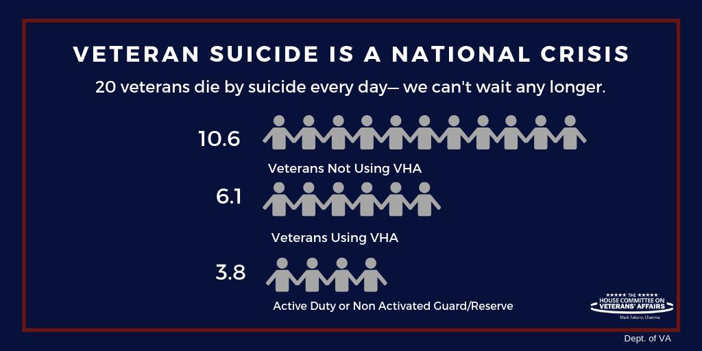 Veteran Suicides 2005-2018